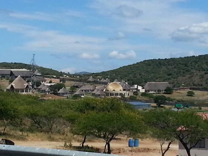 Nkandla homestead of Prez Zuma