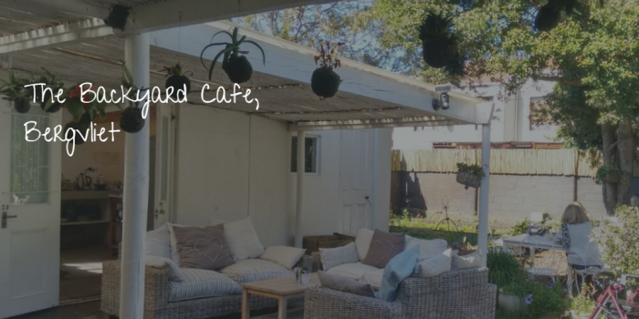 Backyard Cafe hidden gem in the 'burbs: the backyard cafe, bergvliet -